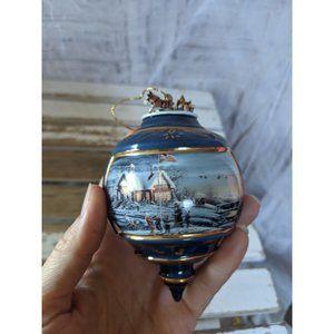 Terry redlin America America 1999 ornament Xmas ho
